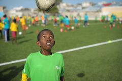 2013_08_19_FIFA_Childrens_Day_I.jpg Stock Image