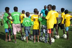 2013_08_19_FIFA_Childrens_Day_A.jpg Royalty Free Stock Photos