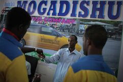 2013_09_01_Mogadishu_Taxi_Company_006 Royalty Free Stock Photos