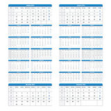2013 2014 calendar. Carefully designed calendar for 2013 and 2014 isolated on feathered background. Starts Mondey, with week numberd. Colours can be changed in royalty free illustration