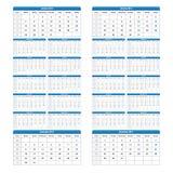 2013 2014 kalendarz royalty ilustracja