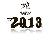 2013蛇 免版税库存图片