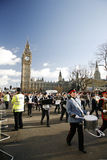 2013, парад дня Новый Год Лондона Стоковое Изображение RF