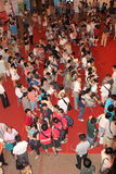 2013年上海书市 免版税库存照片