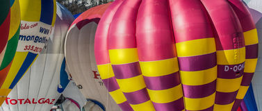 2013 35th Hot Air Balloon Festival, Switzerland Stock Photo