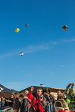 2013 35th Hot Air Balloon Festival, Switzerland Stock Photography