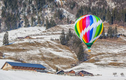 2013 35th Hot Air Balloon Festival, Switzerland Stock Photo