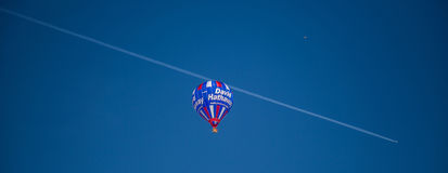 2013 35th International Hot Air Balloon Festival, Switzerland Royalty Free Stock Photos