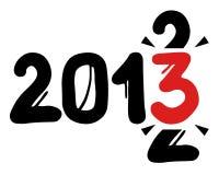2013 años Imágenes de archivo libres de regalías