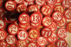 2013 Años Nuevos Imagen de archivo libre de regalías