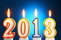 2013 anos Fotografia de Stock Royalty Free