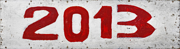 2013 anos Imagens de Stock