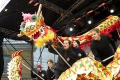 2013 anos novos chineses Fotografia de Stock Royalty Free