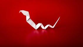 2013 anos novos com serpente de papel Imagens de Stock