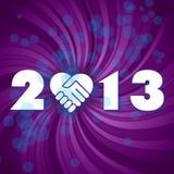 2013 ans neuf heureux Image stock