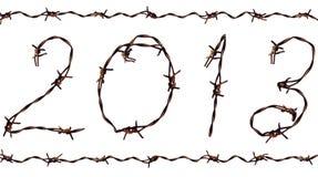 2013 ans neufs Images libres de droits