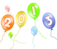2013 balloon Stock Photos