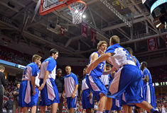 2013 baloncesto del NCAA - introducción del jugador Imagen de archivo libre de regalías