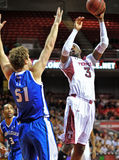 2013 baloncesto del NCAA - tiro Fotos de archivo libres de regalías