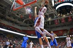 2013 baloncesto del NCAA - tiro libre Imagenes de archivo