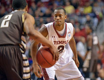 2013 basket-ball de NCAA - Temple-Bonaventure Photo libre de droits