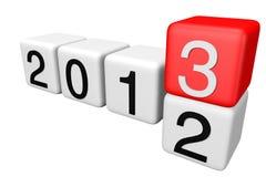 2013 bloku Obrazy Stock