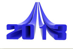 2013 blue Stock Photo