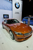 2013 BMW Z4 Coupe. Car advertising, upcoming car shows royalty free stock photography