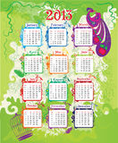 2013_calendar Royalty Free Stock Image