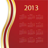 2013 calendar. For your industrial website Stock Images