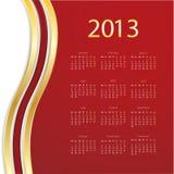 2013 calendar Stock Images