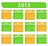 2013 Calendar Stock Image