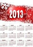 2013 calendar Royalty Free Stock Photos