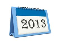 2013 calendar icon Royalty Free Stock Photography