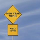 2013 che viene in su Fotografia Stock