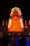 2013 Chinees de lantaarnfestival van het Nieuwjaar en tempelmarkt Royalty-vrije Stock Afbeeldingen