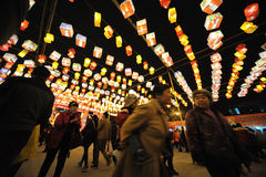 2013 Chinese Lantern Festival in Chengdu Royalty Free Stock Image
