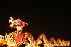 2013 chinese lantern festival in xi'an-dragon Royalty Free Stock Photography