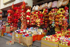 2013 chinese new year market Stock Image