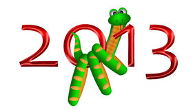 2013 Chinese New Year of the Snake Stock Images