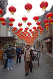 2013 Chinese New Year Temple Fair in Chengdu Royalty Free Stock Photos