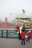 2013 chinese spring festival in Chengdu Royalty Free Stock Photography