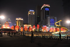 2013 chinese spring festival in Chengdu Stock Photos