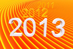 2013 color abstract stripe Royalty Free Stock Image