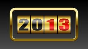 2013 counter nya år Royaltyfria Foton