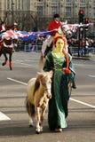 2013, défilé de jour d'années neuves de Londres Image libre de droits