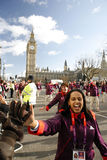 2013, défilé de jour d'années neuves de Londres Photo libre de droits