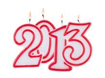 2013 dígitos Imagens de Stock Royalty Free