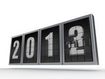 _ 2013 d'an neuf 2 Images libres de droits
