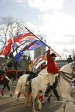 2013 dag London för nya år ståtar Arkivfoto